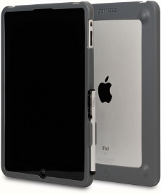 Grey Particle Case for iPad